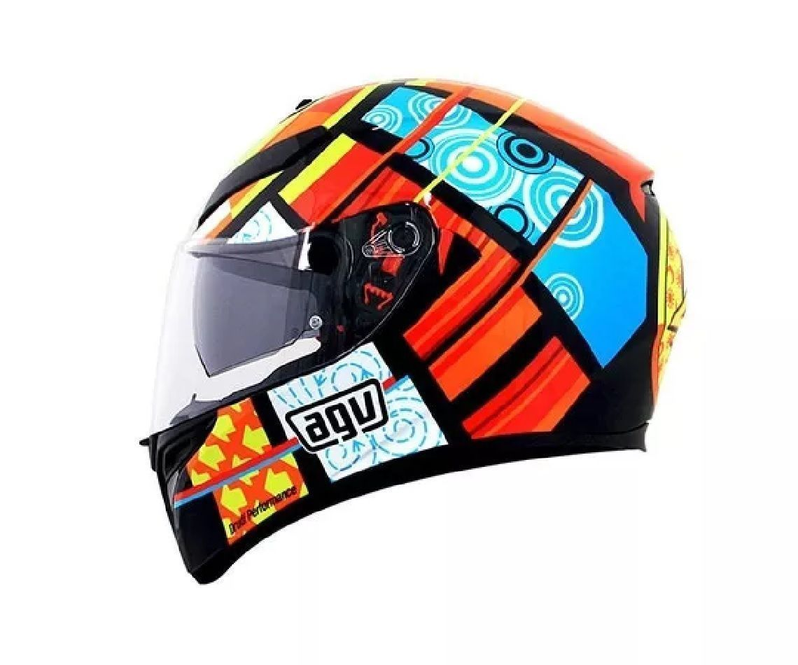 Capacete Agv K3 Sv Elements Replica Spinelli Motos