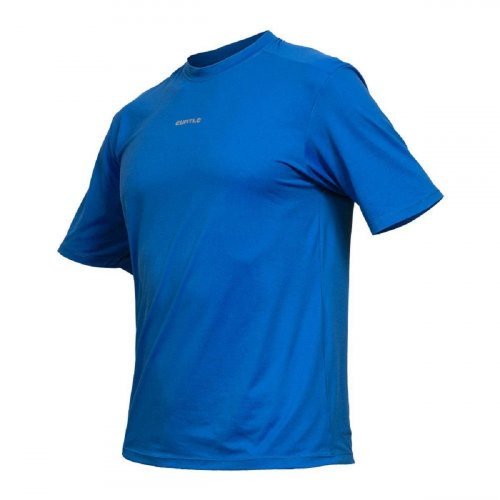 Camisa Curtlo Active Fresh Masculina (manga curta) Azul Royal