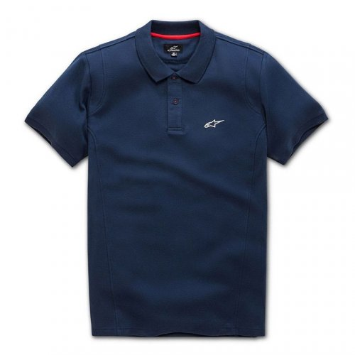 Camisa Polo Alpinestars Capital Azul