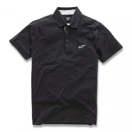 Camisa Polo Alpinestars Eternal Preto
