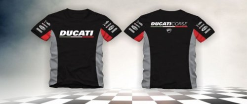 Camiseta All Boy 263 Ducati - Preto