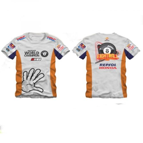 Camiseta All Boy 277 Marc Marquez Repsol - Branco