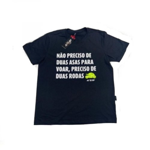 Camiseta All Boy 406 Duas Rodas - Preto