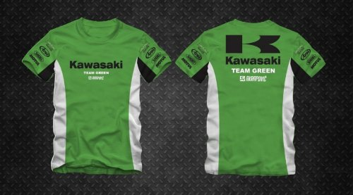 Camiseta All Boy 415 Kawasaki - Verde