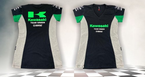Camiseta All Boy 257 Feminina Kawasaki Preto