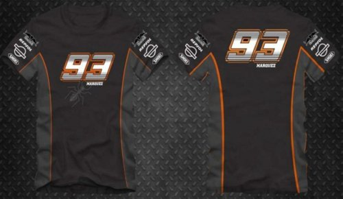 Camiseta All Boy 246 Feminina Marc Marquez 93 - Preto