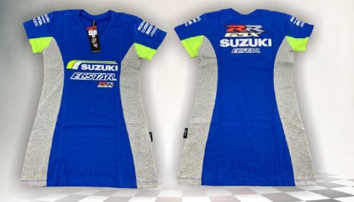 Camiseta All Boy 244 Feminina Suzuki - Royal