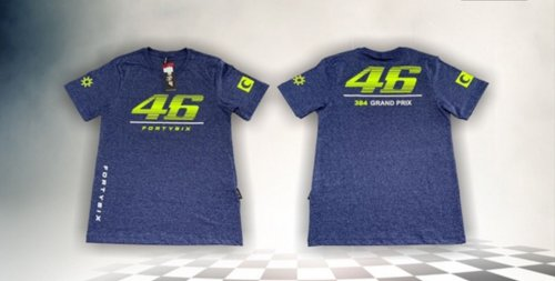 Camiseta All Boy 323 Infantil/Juvenil Fortysix Sesation Denin