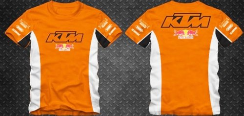 Camiseta All Boy 191 KTM Red Bull Laranja