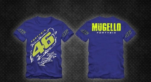 Camiseta All Boy 204 Mugello 46 Royal