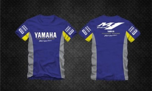 Camiseta All Boy 261 Yamaha - Royal