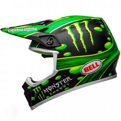 Capacete Bell MX-9 Mips Showtime Matte Black Green