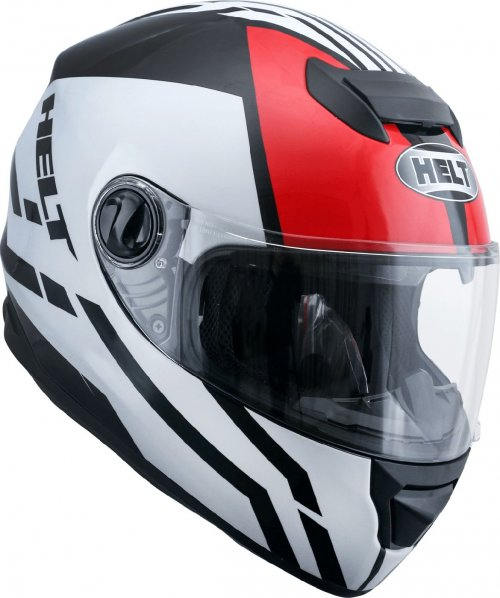 Capacete Helt New Race Glass All Star