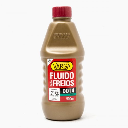 Fluido de Freio Varga DOT 4 Plus - 500 ml