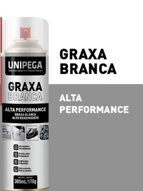 Graxa Branca Spray 300ml UP