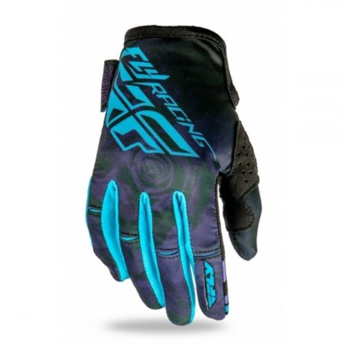 Luva Fly Kinetic Ladies Feminina Roxo/Azul