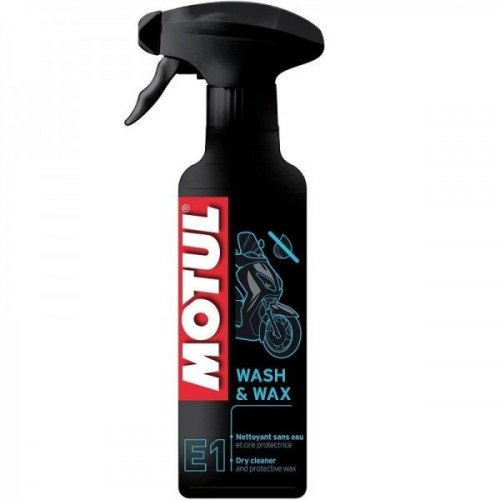Motul E1 Wash & Wax Limpeza a Seco 400ml
