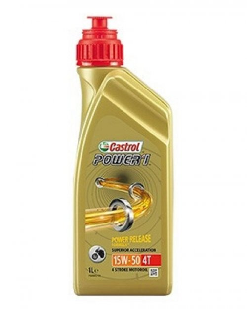 Óleo Castrol Power 1 Racing 15w50 4T 1L Semissintético