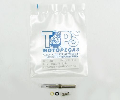 Parafuso Regulagem do Ar CRF /YZF /KXF /RMZ /KTM (Mod. Original) - Tops